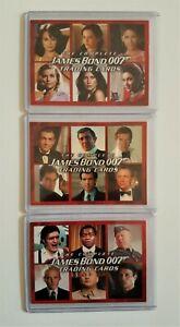 James Bond Heroes /& Villains Promo Card P3