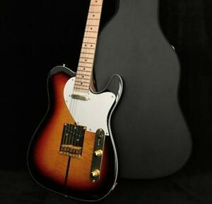 2018 custom shop tl tuff dog electric guitar gold hardware korean parts sunburst ebay. Black Bedroom Furniture Sets. Home Design Ideas