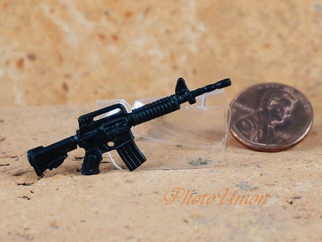 "Hasbro GI Joe 1:18 Action Figure Accessory 3.75/"" M4 Carbine RIFLE Colt AR15"