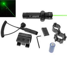 Tactical 5mw 803 Green Dot Laser Sight Rifle Gun Scope Rail Remote Switch 16340