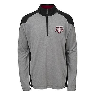 "Texas A/&M Aggies NCAA Champion /""Compete/"" Men/'s 1//4 Zip Pullover Shirt"