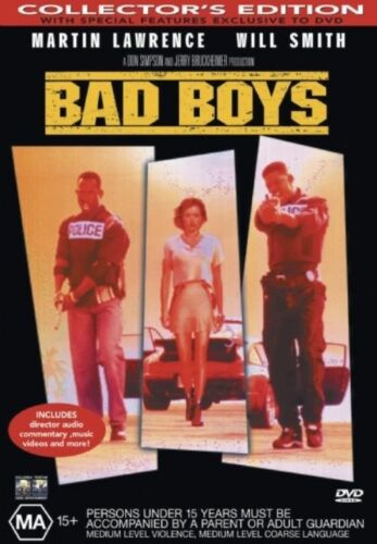 1 of 1 - Bad Boys - NEW+SEALED DVD movie - fast free post