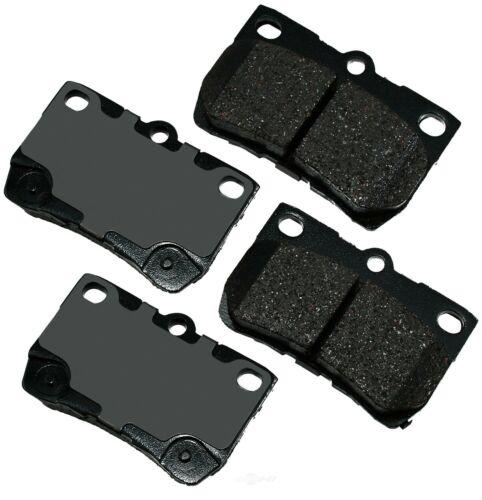 Disc Brake Pad Set-ProACT Ultra Premium Ceramic Pads Rear Akebono ACT1113