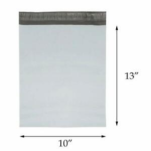 """1-1000 10x13 Black 2mil Colored Poly Mailer Shipping Self Seal Bags 10/"""" x 13/"""""""