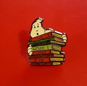 Ghostbusters-Pin-Ghost-Books-Cult-Classic-Movie-Enamel-Metal-Brooch-Badge-Lapel