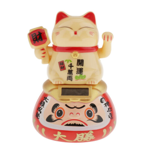 Waving Hand Lucky Fortune Cats Wealth Kids Lovers Friends Home Office Garden