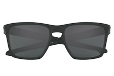 Oakley Sliver XL OO9341-01 Sunglasses Matte Black Frame Grey Polarized Lens