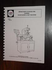 Sunnen VGS-20 Seat & Guide Machine Parts Manual