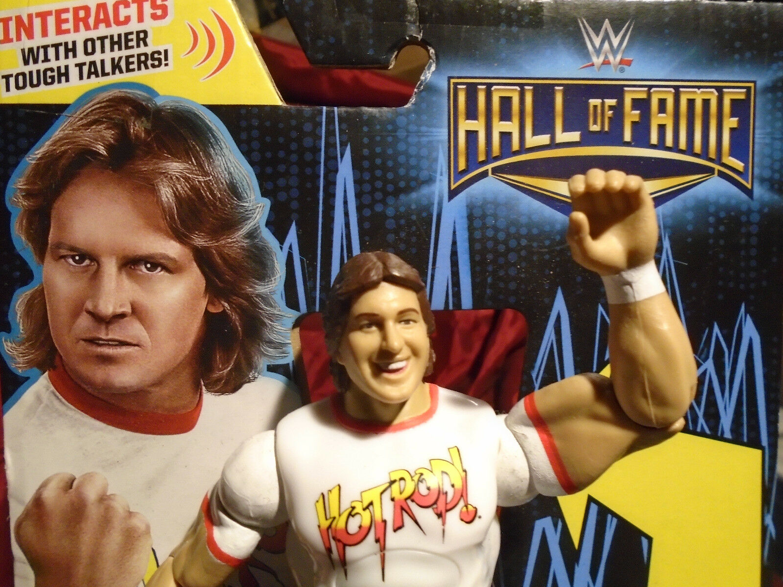 ROWDY RODDY PIPER WWE WWF HALL OF FAME TOUGH TALKERS Target Exclusive MATTEL HTF