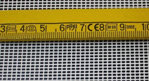3,50€//m² verschiedene längen 270g//m² weiß Windschutz Windschutznetz Zaunblende