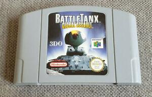 Nintendo 64 N64 juego Battletanx asalto global