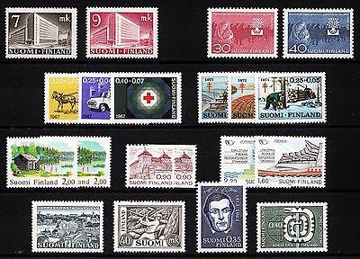 102751/ Finnland - Schönes Lot Frei- U. Sondermarken - ** - M€ 10,00+ Factory Direct Selling Prijs