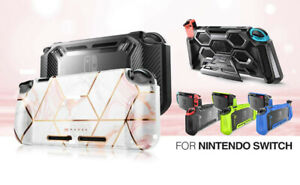 For Nintendo Switch Console Grip Case Cover, Mumba Protective Shockproof Shell