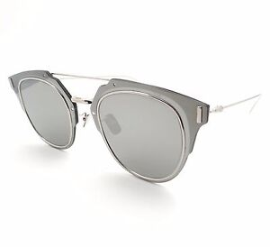 7fed2247e0fbc Christian Dior Composit 1.0 0100T Palladium Grey New Sunglasses ...