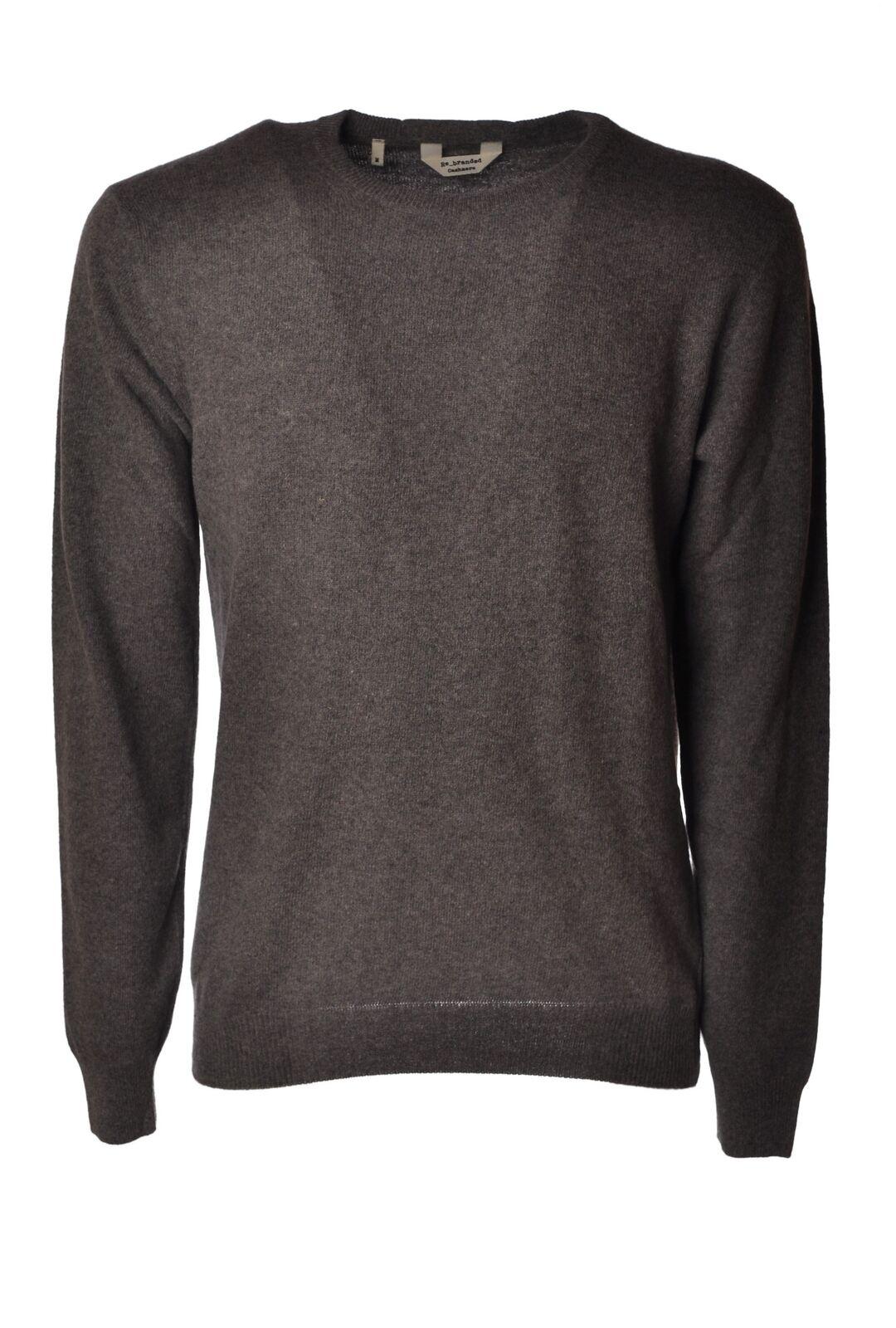 Re_Branded - Knitwear-Sweaters - Man - Grau - 4687005M180906
