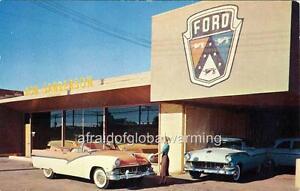 Ford Dealership Columbus Ohio >> Photo. 1950s. Glendale, Arizona. Don Sanderson Ford - Auto Dealership   eBay