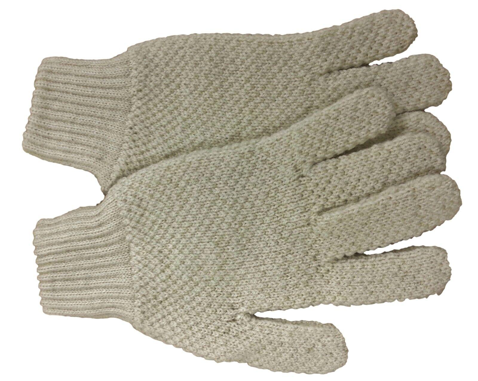 Herren   Damen Kind Jagd Jagd Jagd Reithandschuhe Geölt Britisch Aran Wolle Creme XXS-XXL 0d731d