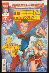 TEEN-TITANS-15b-2018-DC-UNIVERSE-Comics-VF-NM-Book