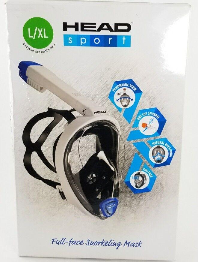 HEAD Sport Full Face Snorkeling Mask Large   Xlarge