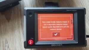 Becker-Traffic-assistant-7914-gps-navi-3-PEZZI-senza-nessun-accessorio