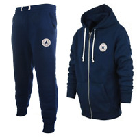 Converse Allstars Hooded Tracksuit Navy Blue Mens Adults Sizes S,m,l,xl,2xl