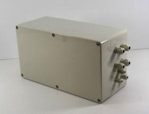 Industrie-Boitier-Leergehause-Boite-de-raccordement-L-360-mm-x-L-200-mm-x-T-150-mm
