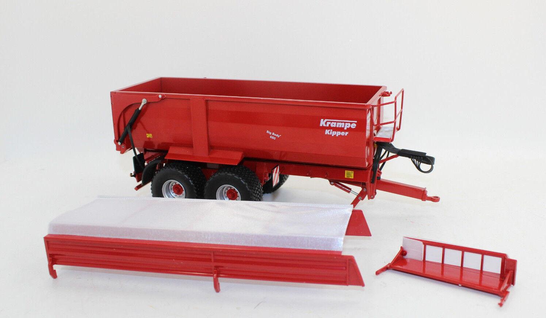 Wiking 773 39 Big Body 650 Krampe Dumper with silageaufsatz 1 3 2 077339 NEW