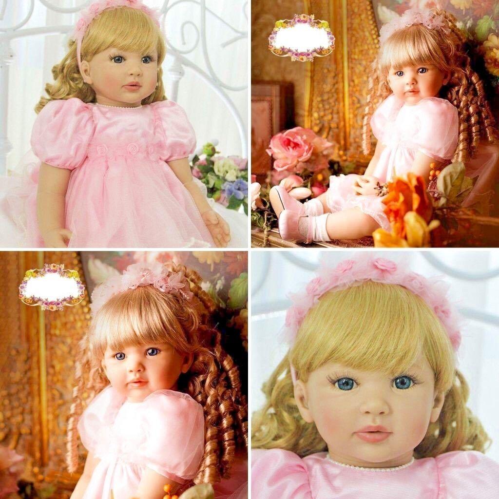 Nueva Muñeca Reborn Bebé Niña Princesa 55cm Hecho a Mano realista Juguetes Regalo Real vivo