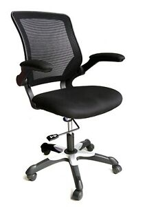 wholesale dealer 81700 79e95 Details about Tweddle Black Mesh Back Operator Task Computer Compact Office  Chair Graded 95%