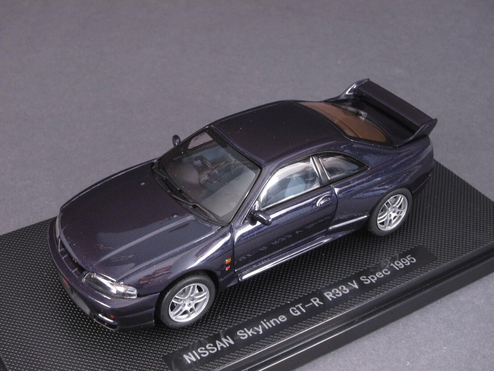 1 43 Ebbro NISSAN cieloLINE GT-R Vspec r33 1995-VIOLA - 44187 - 142097