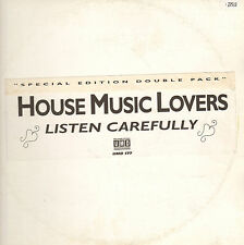 HOUSE MUSIC LOVERS - Listen Carefully - Underground Music Department (UMD)