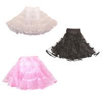 Hip Hop 50s Shop Girls Vintage Style Crinoline Petticoat Slip For Poodle Skirt