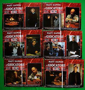 H02-Lote-Fotobusta-el-Jugador-Matt-Damon-Edward-Norton-Famke-Janssen-John-Mal