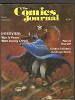 1981 Comics Journal Fanzine #66-Denny O'Neil Batman-Grade: 7.5/8.0 WH