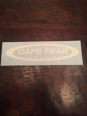 Cape Fear Fishing Rods Decal/Sticker