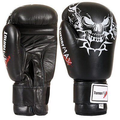 Leather Gloves Adult Boxing Punch Training Exercise Kick MMA Grappling Gloves