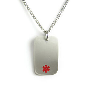 Myiddr pacemaker medical alert necklace stainless steel pre image is loading myiddr pacemaker medical alert necklace stainless steel pre aloadofball Image collections