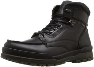 6d113413 Details about ECCO Men's Track 6 Gore-Tex Moc Toe High Winter Boot Leather  Comfort Casual Snow