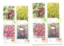 Australia-Carnivorous Plants - gummed + self-adhesive mnh sets 4039-46