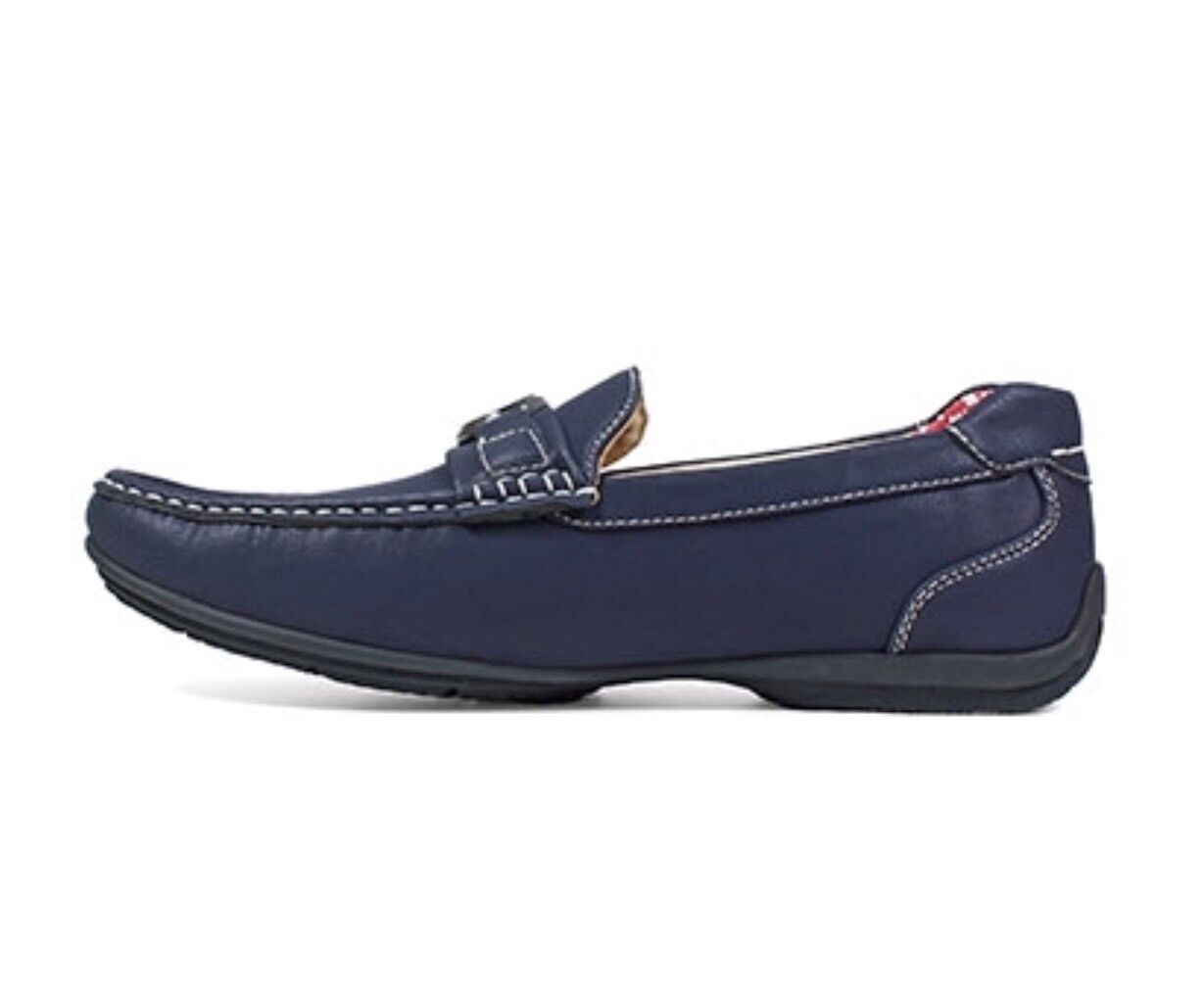 Stacy Adams Driving 13M Blue Driving Adams Loafer Moccasins 25173-410 5fadc3