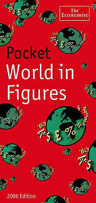 """""""AS NEW"""" The Economist, Pocket World In Figures 2006, Hardcover Book"""