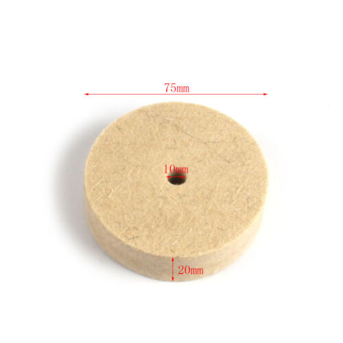 "3-12/""Buffing Grinding Wheel Wool Felt Polishing Abrasive Disc For Metal Surface"