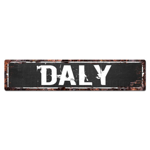 SLND1049 DALY MAN CAVE Street Chic Sign Home man cave Decor Gift Ideas