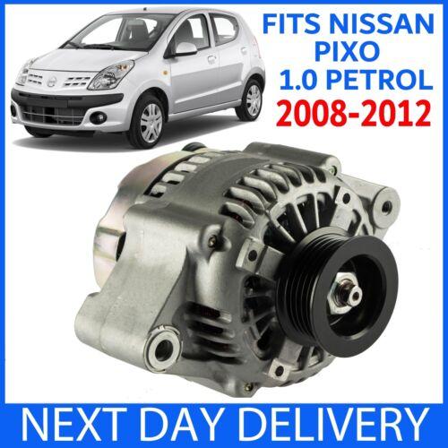 Nissan Pixo 1.0 ESSENCE 0996cc Visia /& N-Tec 2008-2012 Brand New 70 A Alternateur
