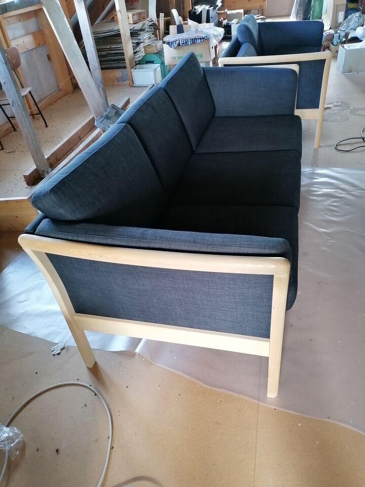 Sofa, træ, 2 pers.