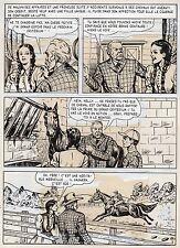 BOB DAN LE CHIEN MEXICAIN PLANCHE ORIGINALE BILL TORNADE ARTIMA PAGE 2