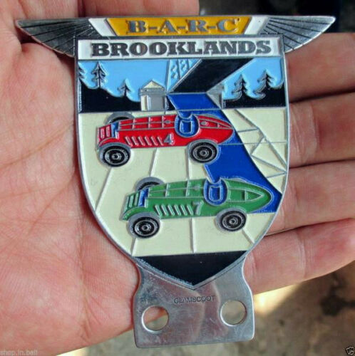 The Sports Car Club RACING of Badge Vintage Jaguar collectors BRITISH BARC sale
