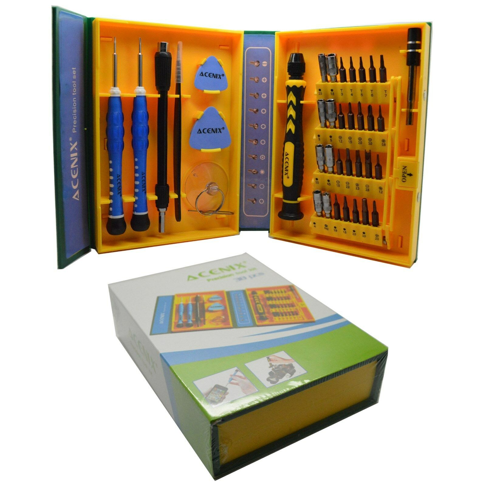 iPad//Samsung Galaxy S IV i9500 i9300 Other Mobile Phone Repair-Kits 8 in 1 Professional Versatile Screwdrivers Set for iPhone 5 iPhone 4 /&4S S III