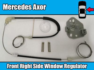 1x Repair Kit For Mercedes Atego Axor Window Regulator Left Side w// Tool /& Clips