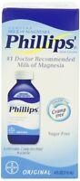 Phillips Original Milk Of Magnesia Laxatives 4 Fl Oz (118 Ml) Each on Sale